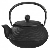Arare Black Cast Iron Teapot 0.8L