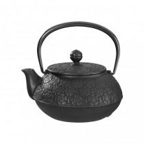 Sakura Black Cast Iron Teapot 0.55L