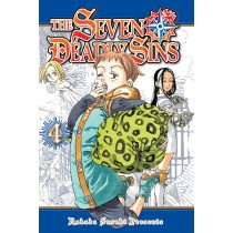 The Seven Deadly Sins, Vol. 4 by Nakaba Suzuki