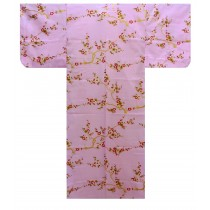 Ladies Yukata - Golden Plum - Pink