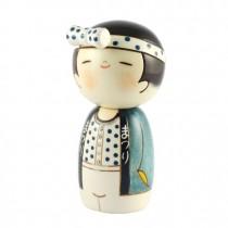 Kokeshi Doll - Wasshoi (Boy)