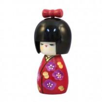 Kokeshi Doll - Momochan Red