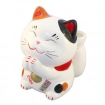 Maneki Neko - Lucky Cat With the Lottery Case (L)