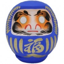 DARUMA - SIZE 2 - BLUE - PERSONAL ACHIEVEMENT & SUCCESS