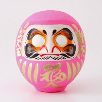 DARUMA - SIZE 2 - PINK - BLESSING IN LOVE, MARRIAGE & GIVING BIRTH