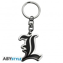 "DEATH NOTE - Keychain ""L - Symbol"""