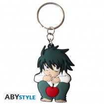 "DEATH NOTE - Keychain PVC ""L - character"""