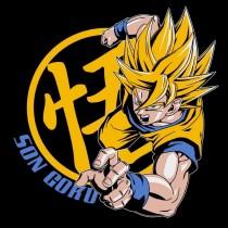 """T-SHIRT DRAGON BALL """"Goku Super Saiyan"""" Extra Large"""