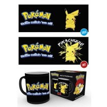 Pokemon - Mug 300 ml / 10 oz - Heat Mugs Pikachu