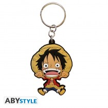 "ONE PIECE - Keychain PVC ""Luffy SD"""