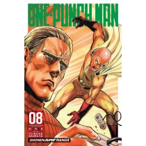 One-Punch Man, Vol. 8 Illustrated by Yusuke Murata