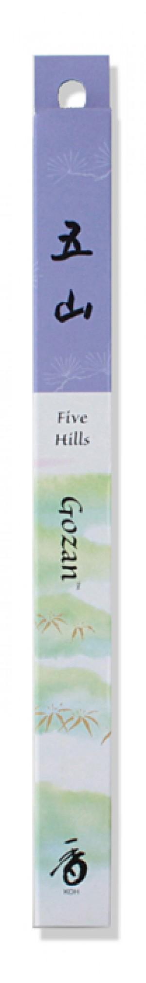 Shoyeido - Go-zan / Five Hills - 35 Incense Sticks