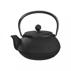 Arare Black Cast Iron Teapot 0.55L