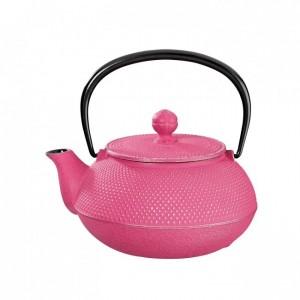 Arare Silver Fuchsia Cast Iron Teapot 0.8L