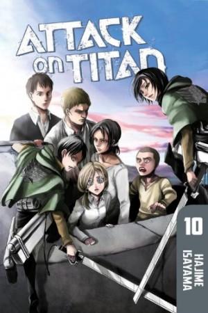 Attack on Titan, Vol. 10 by Hajime Isayama