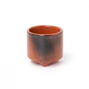 Shoyeido - Incense Burner - Mon-koh Burner Red
