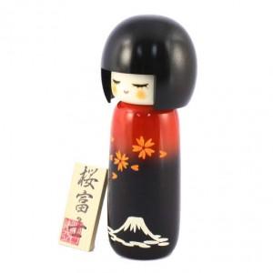 Kokeshi Doll - Sakura & Fuji