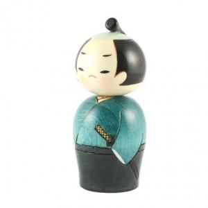 Kokeshi Doll - Samurai