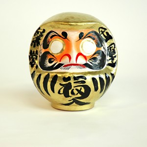 DARUMA - SIZE 2 - GOLD - WEALTH