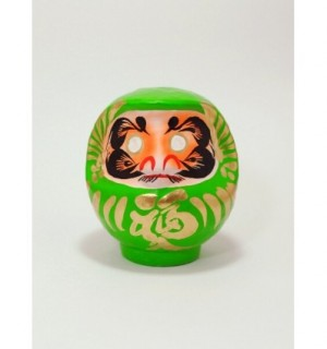 DARUMA - SIZE 2 - GREEN - GOOD HEALTH & VITALITY