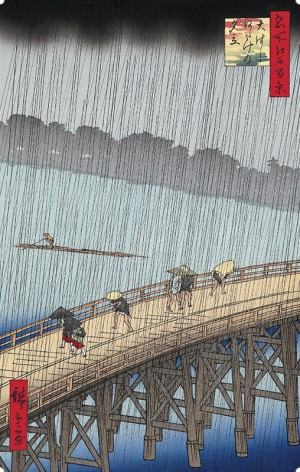 Bridge Ohashi and Atake in Sudden Shower