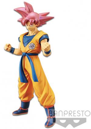 Dragon Ball Super Movie Figure Cyokoku Buyuden Super Saiyan God Son Goku