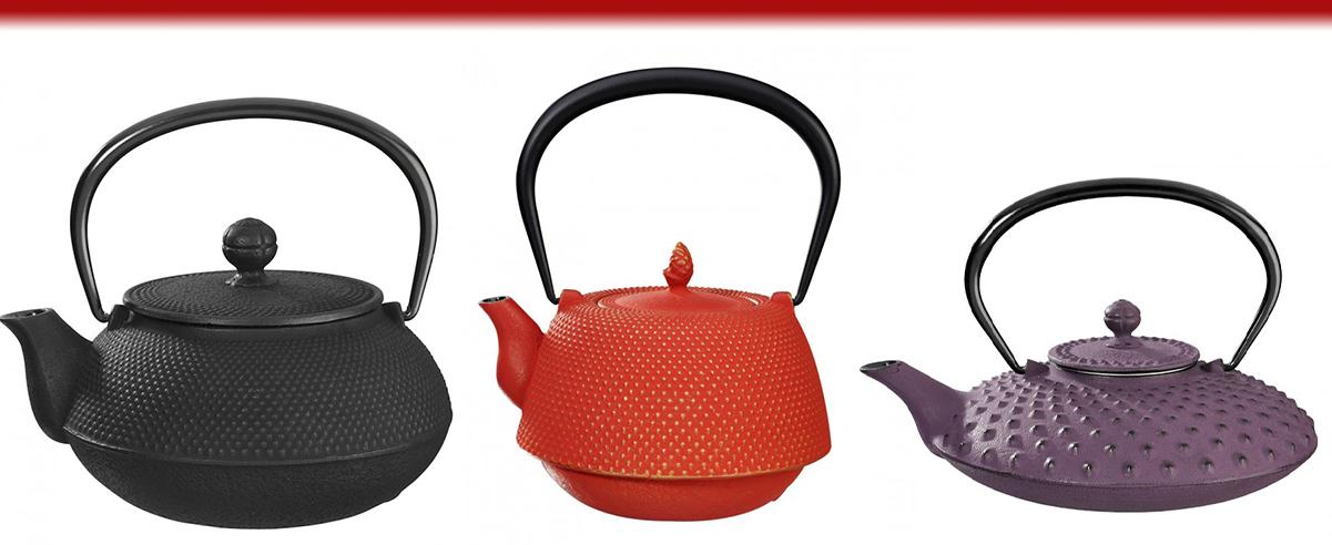 Cast Iron Teapots & Sake Sets