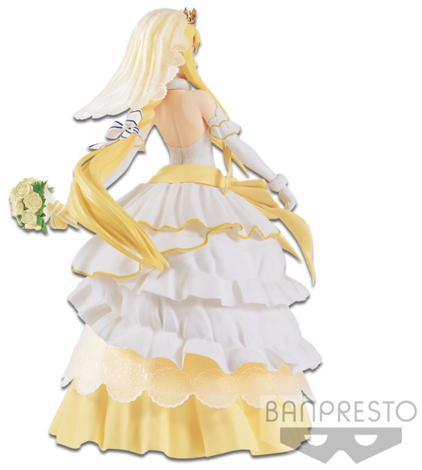 Statue PVC EXQ Sword Art Online Banpresto Wedding Alice 21 cm