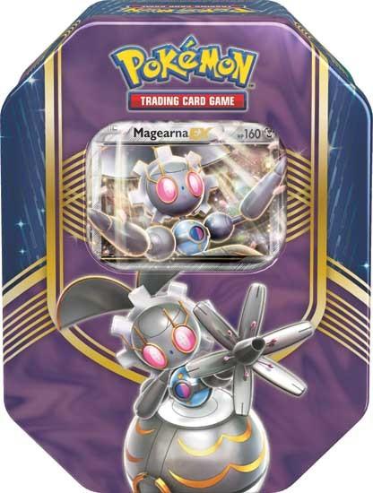 Pokemon TCG: Fall Battle Heart Tin Magearna EX