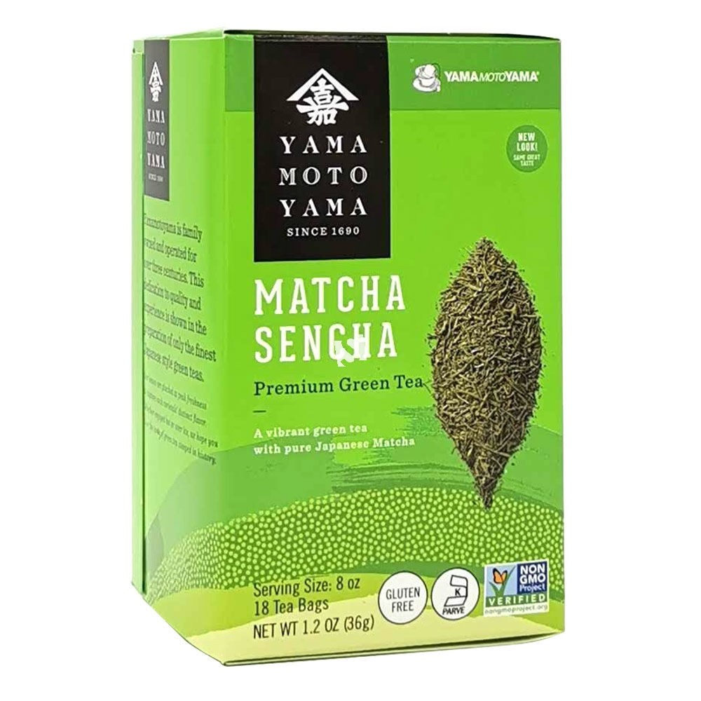 Yamamotoyama Matcha Sencha Premium Green Tea | x 18 Tea Bags