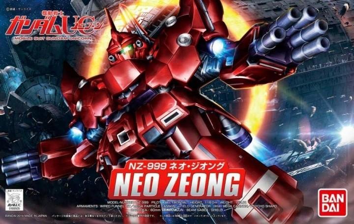 SD BB NEO ZEONG - GUNPLA