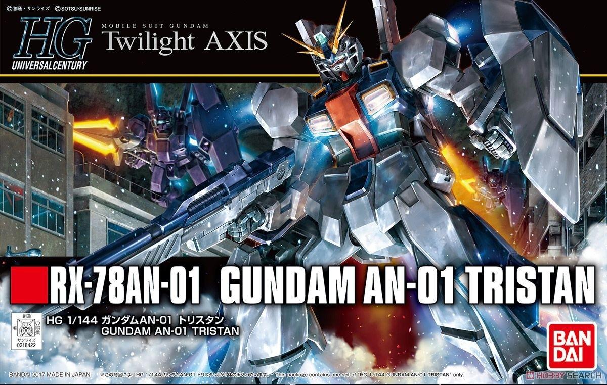 HG GUNDAM AN-01 TRISTAN 1/144 - GUNPLA