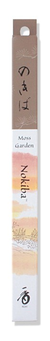 Shoyeido - Nokiba / Moss Garden - 35 Incense Sticks