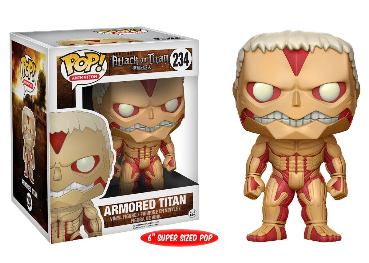 POP! Vinyl: Attack on Titan: Armored Titan - 15 cm