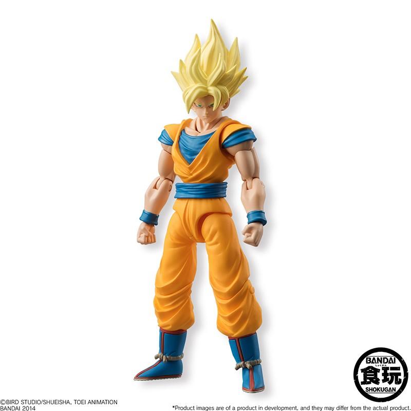 Dragon Ball Z - Bandai Shokugan Figure - Shodo Neo Super Saiyan Goku 2 - 8 cm