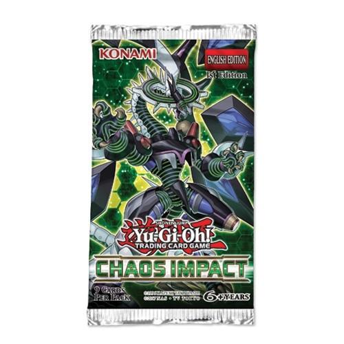 Yu-Gi-Oh! TCG - Chaos Impact Booster Pack