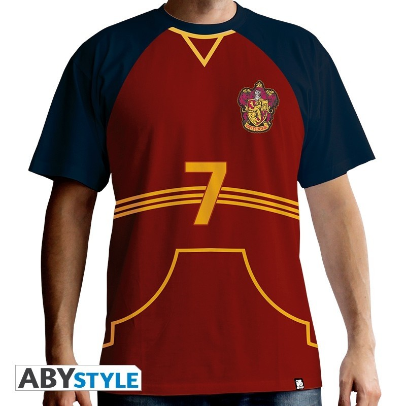 """T-SHIRT Harry Potter """"Quidditch Jersey"""" Large"""