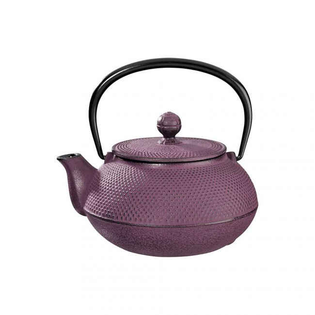 Arare Plum Cast Iron Teapot 0.3L