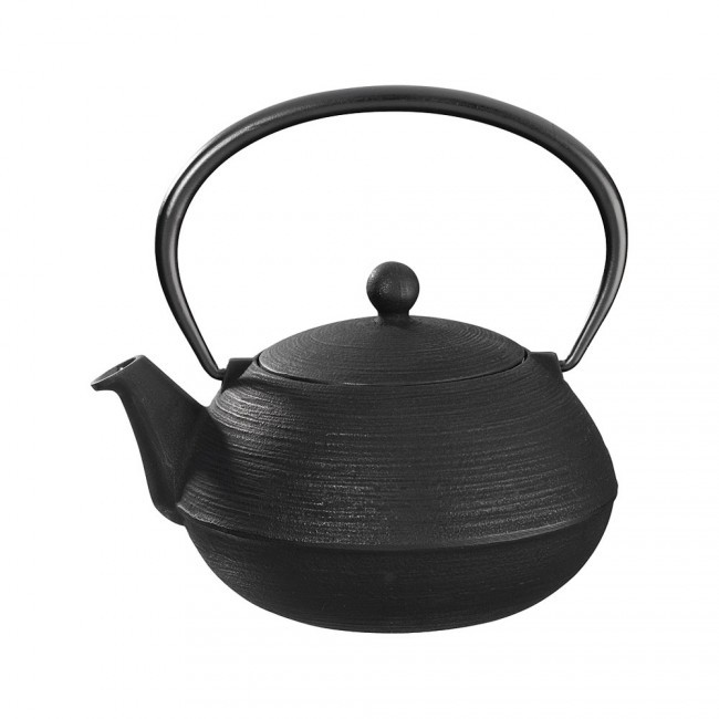 Hakeme Black Cast Iron Teapot 0.8L