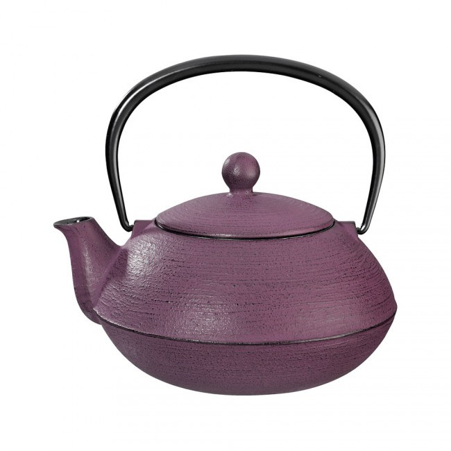 Hakeme Plum Cast Iron Teapot 0.8L