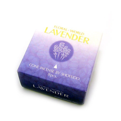 Shoyeido - Floral World - Lavender - 8 Incense Cones