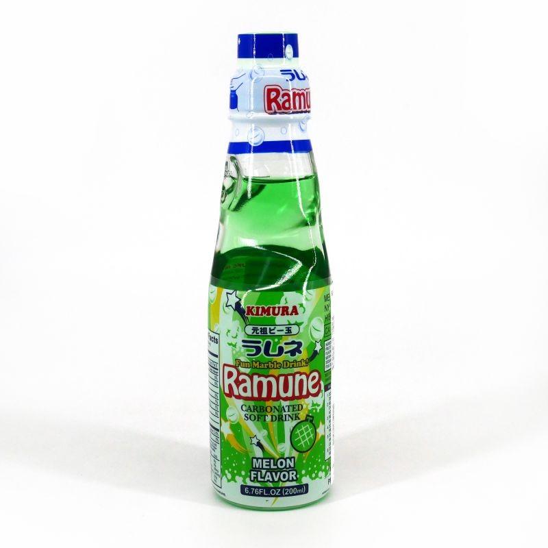 Ramune Pop Drink Melon Flavour 200ml