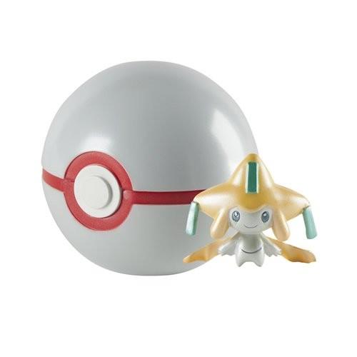 Pokemon 20th Anniversary Jirachi Figure with Premier Pokeball