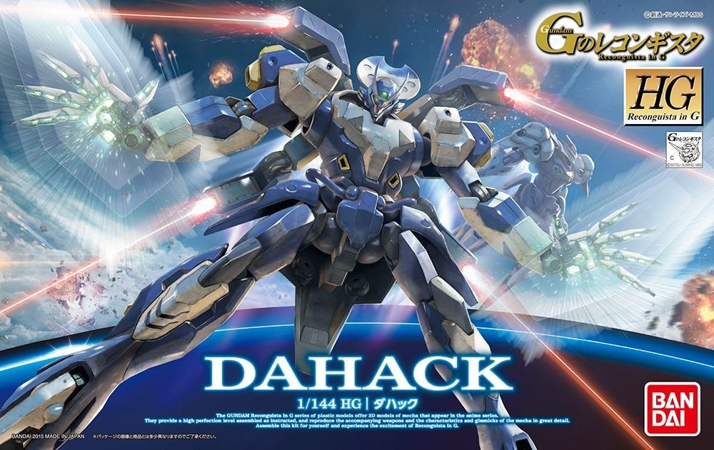 HG DAHACK 1/144 - GUNPLA
