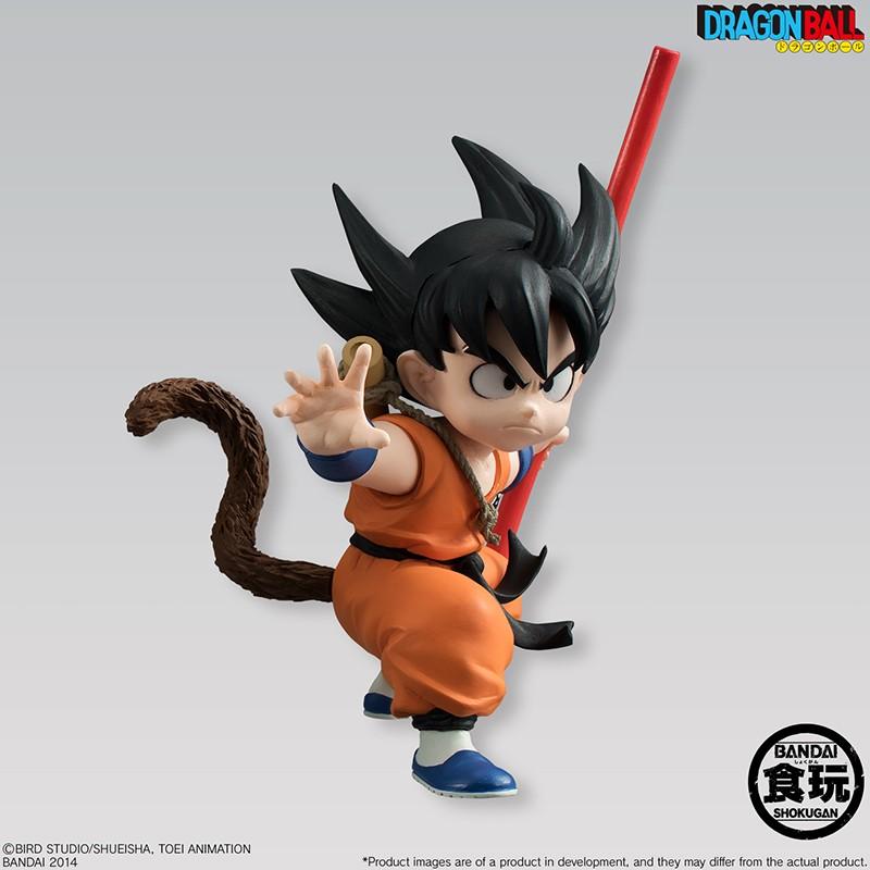 Dragon Ball Styling - Bandai Shokugan Figure - Kid Goku 12 cm