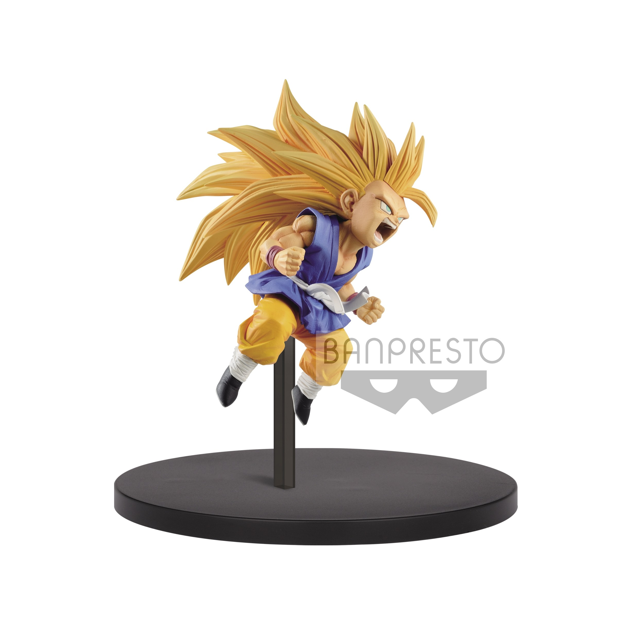 Vol.3 Son Goku Pvc Figure Banpresto Super DRAGON BALL FES!