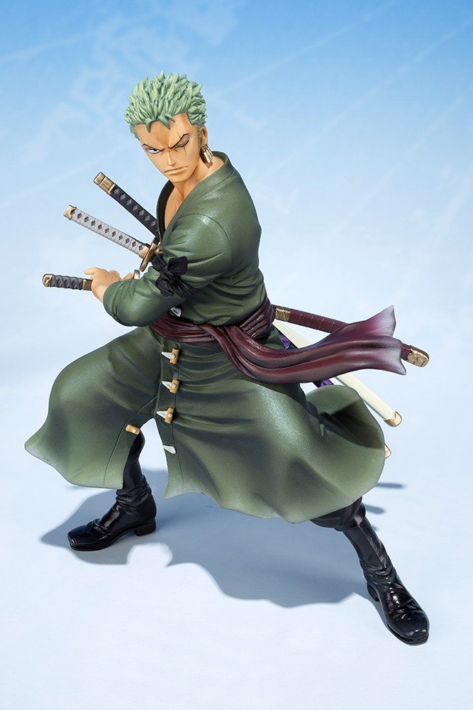 One Piece - Zero Zoro 5th Ann Figuart 12 cm