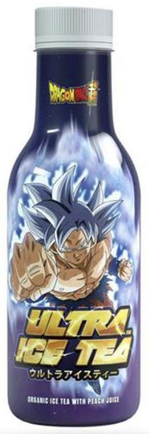 Dragon Ball Super Son Goku Organic Iced Tea with Peach Flavour 500ml