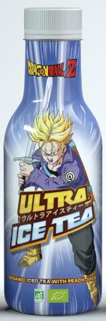 Dragon Ball Z Trunks Organic Iced Tea with Peach Flavour 500ml