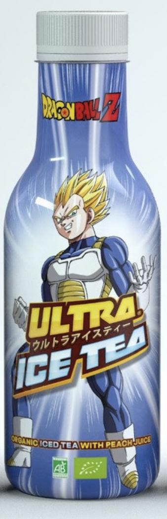 Dragon Ball Z Vegeta Organic Iced Tea with Peach Flavour 500ml